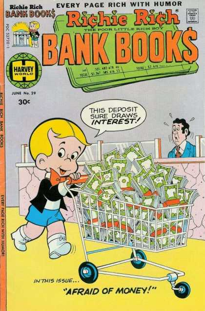 Richie Rich Bank Books 29