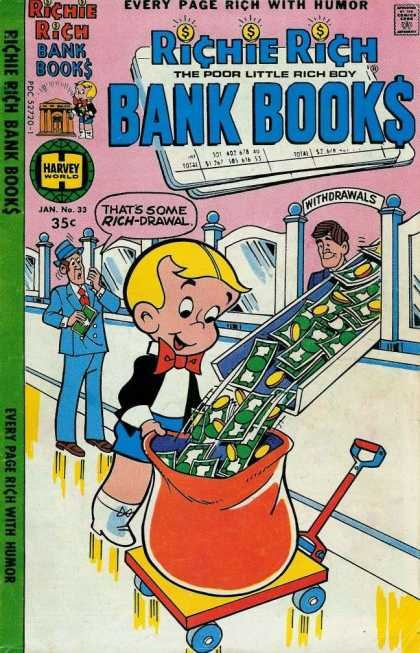 Richie Rich Bank Books 33