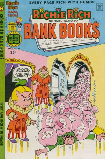Richie Rich Bank Books 34