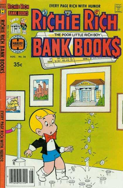 Richie Rich Bank Books 36