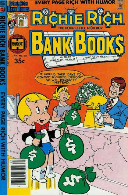 Richie Rich Bank Books 38