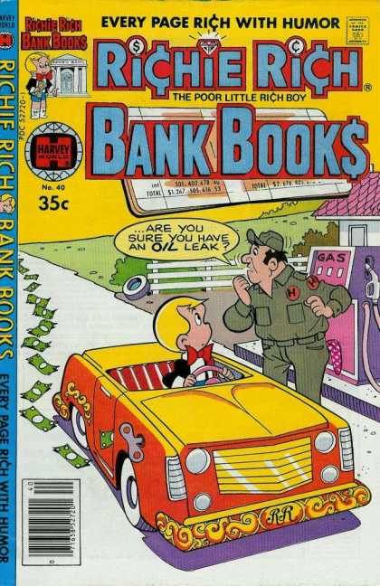 Richie Rich Bank Books 40