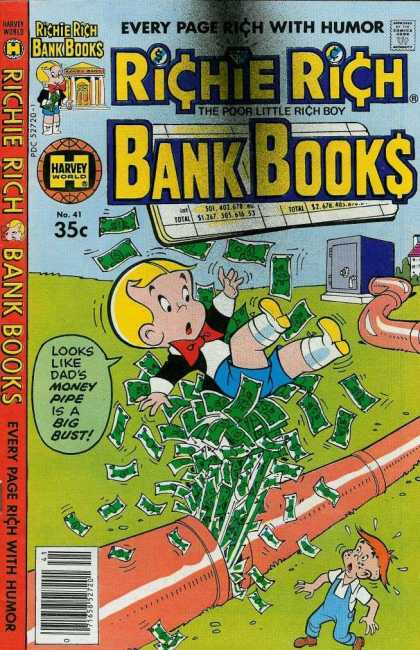 Richie Rich Bank Books 41