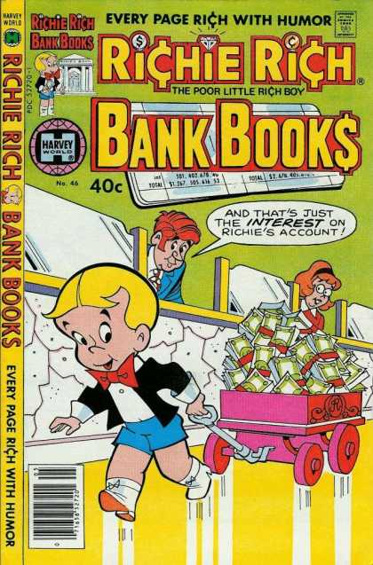 Richie Rich Bank Books 46