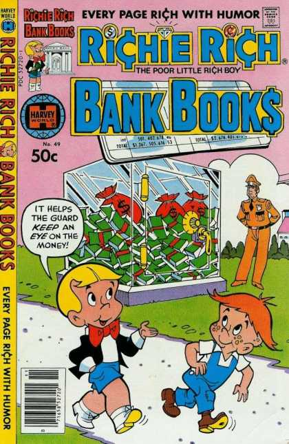 Richie Rich Bank Books 49