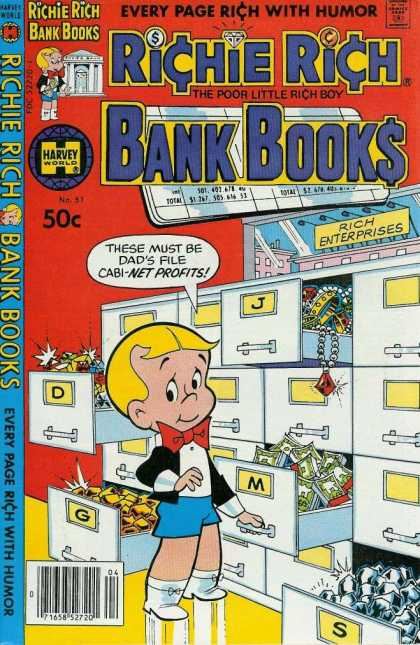 Richie Rich Bank Books 51