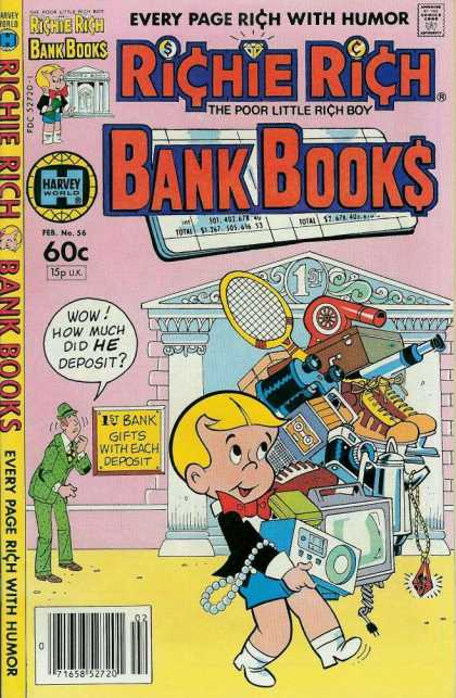 Richie Rich Bank Books 56