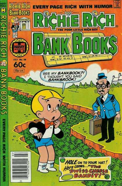 Richie Rich Bank Books 58