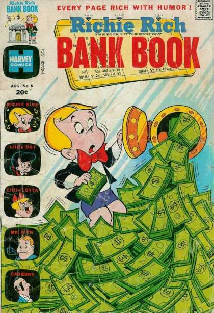 Richie Rich Bank Books 6