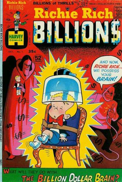 Richie Rich Billions 1 - Boy - Torture - Lightning - Doll - Kidnappers