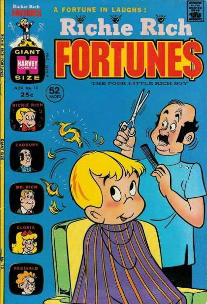 Richie Rich Fortunes 13
