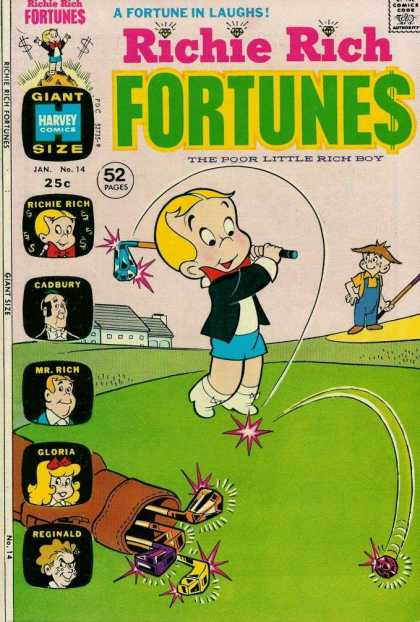 Richie Rich Fortunes 14