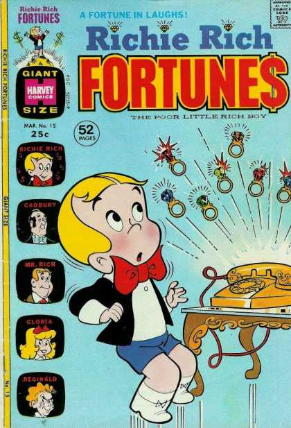 Richie Rich Fortunes 15