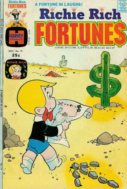 Richie Rich Fortunes 19