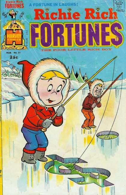 Richie Rich Fortunes 21