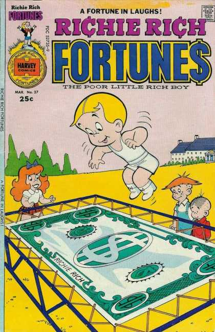 Richie Rich Fortunes 27