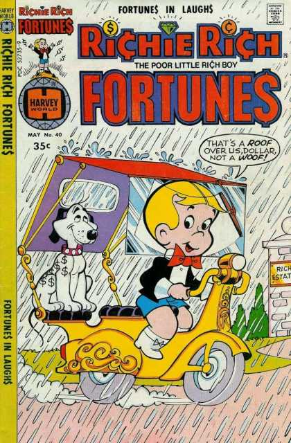 Richie Rich Fortunes 40