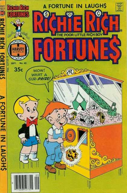 Richie Rich Fortunes 42