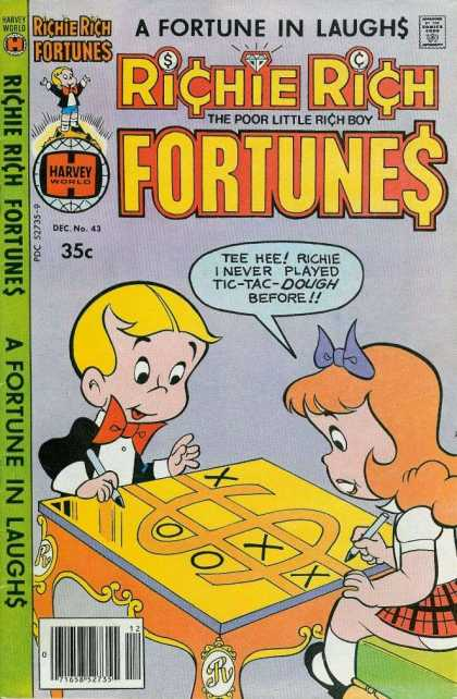 Richie Rich Fortunes 43