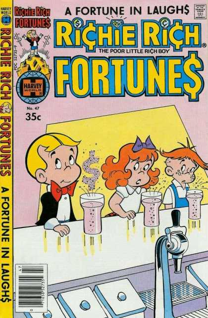 Richie Rich Fortunes 47