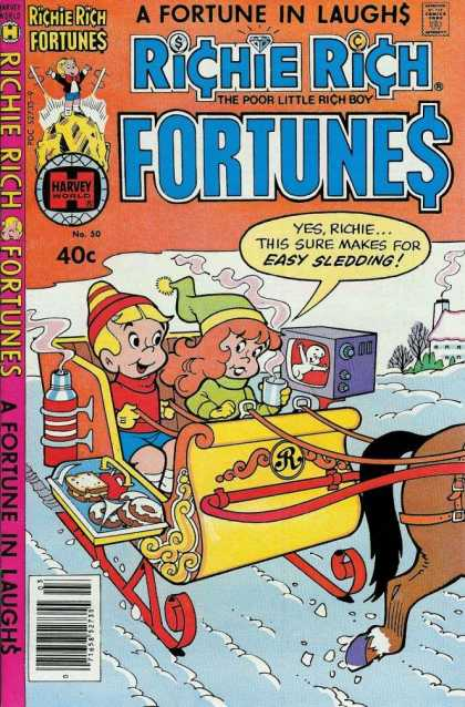Richie Rich Fortunes 50