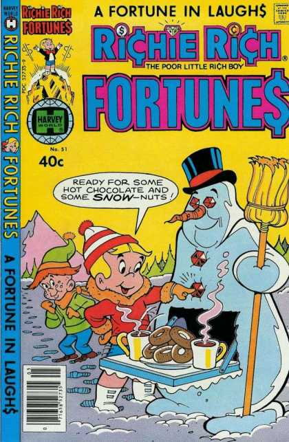 Richie Rich Fortunes 51