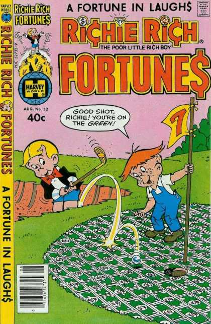 Richie Rich Fortunes 52 - Kids - Golf Ground - Golf Bal
