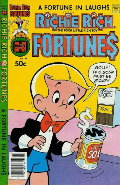 Richie Rich Fortunes 54