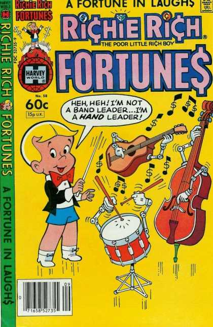 Richie Rich Fortunes 58