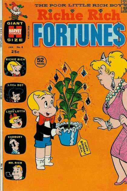 Richie Rich Fortunes 8