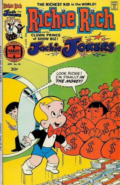 Richie Rich & Jackie Jokers 20 - The Richest Kid In The World - Clown Prince Of Show Biz - Jackie Jokers - In The Money - Vault