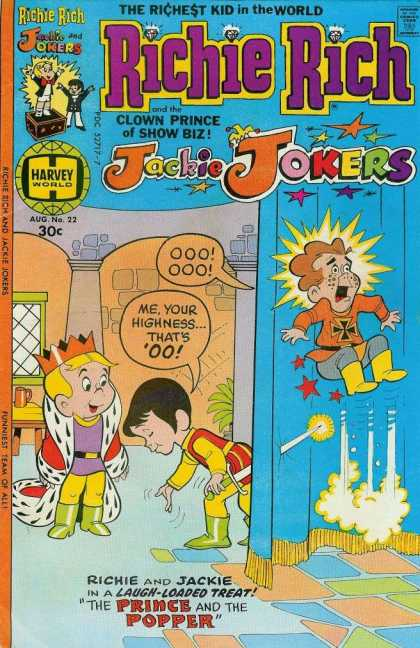 Richie Rich & Jackie Jokers 22