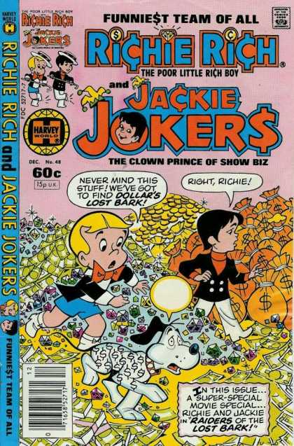 Richie Rich & Jackie Jokers 48 - Money - Diamonds - Dollars - Blonde Hair - Hat