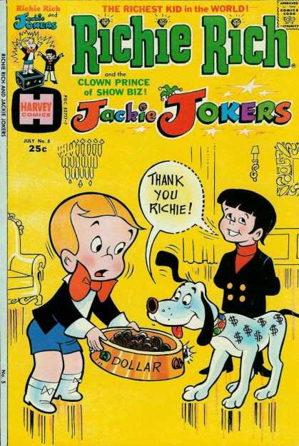 Richie Rich & Jackie Jokers 5
