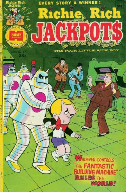 Richie Rich Jackpots 17 - Fantastic - Rules - World - Holdup - Machine