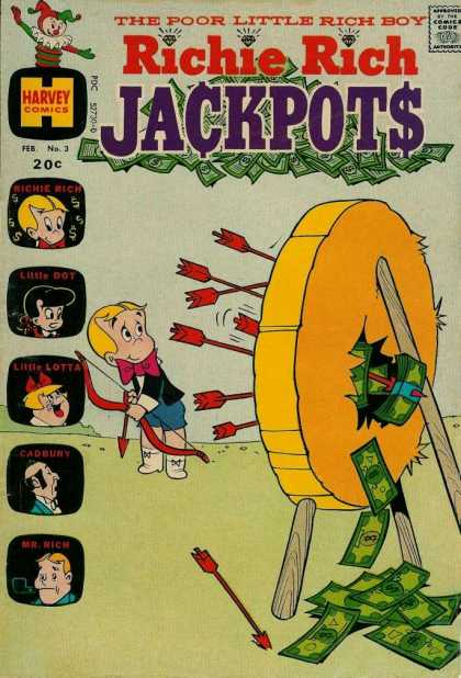 Richie Rich Jackpots 3 - Little Dot - Little Lotta - Cadbury - Mr Rich - Arrows