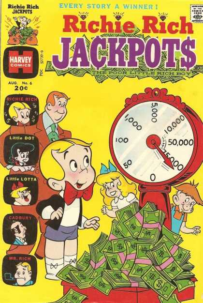 Richie Rich Jackpots 6 - Girl - Boy - Money - Grown Man - Little Lotta