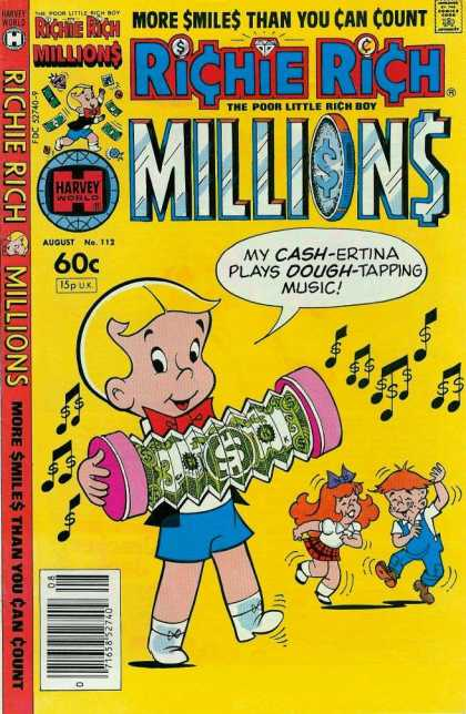 Richie Rich Millions 112 - Cash-ertina - Dough-tapping - More Smiles - Poor Little - Rich Boy