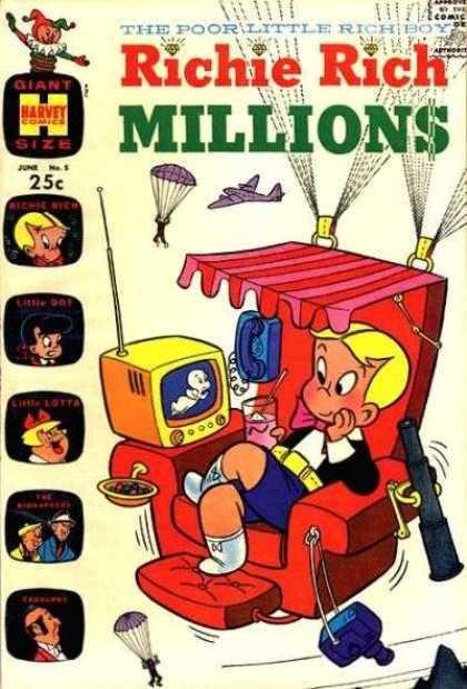 Richie Rich Millions 5 - Richie Rich - Millions - Poor Little Rich Boy - Spoiled Boy