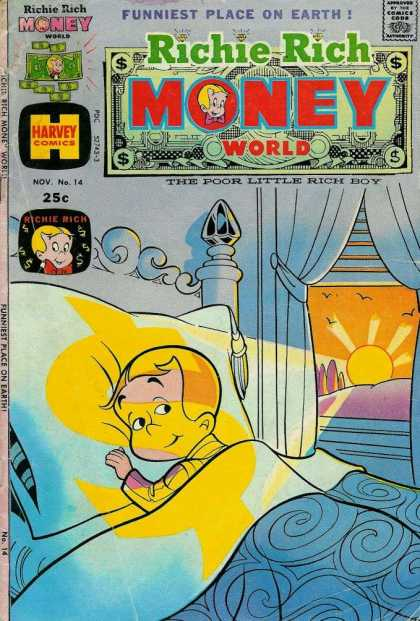 Richie Rich Money World 14 - Funniest Place On Earth - No 14 - Sunrise - Bedroom - Pajamas