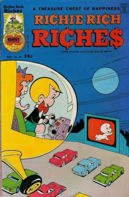 Richie Rich Riches 23 - Money Game - Baby Game - Kids Game - Car Watch - Operations