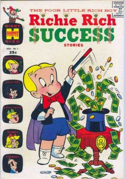 Richie Rich Success Stories 1