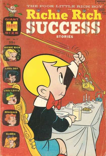 Richie Rich Success Stories 17 - Success Stories - Poor - Rich - Little Dot - Little Lotta