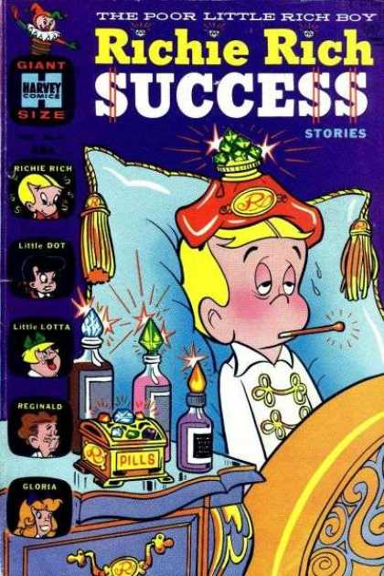 Richie Rich Success Stories 31 - Rich Boy Comics - Harvey Books - Little Lotta - Little Dot - Story Of Richie