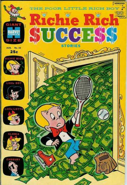 Richie Rich Success Stories 33 - Richie Rich - Success Stories - Little Dot - Little Lotta - Money