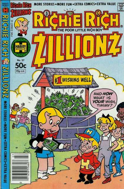 Richie Rich Zillionz 27 - Richie - Rich - Zillionz - Harvey World - Comic