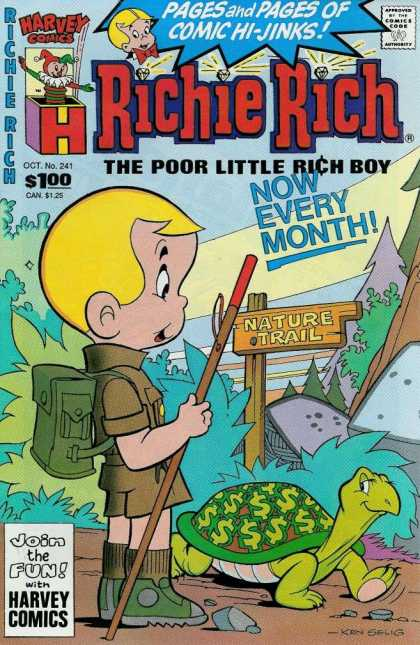 Richie Rich 241 - Pages - Harvey - Comics - Boy - Month