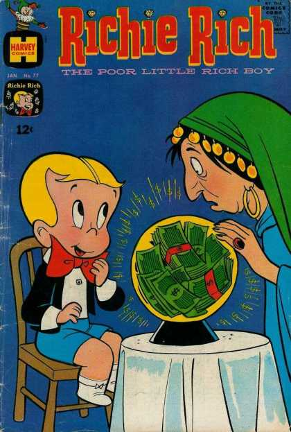 Richie Rich 77 - Richie Rich - Money - Future - Psychic - Little Boy