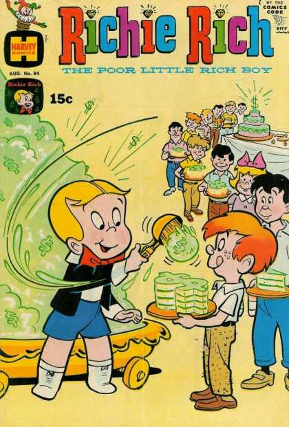 Richie Rich 84 - Cake - Ice Cream - Harvey - Scoop - Children