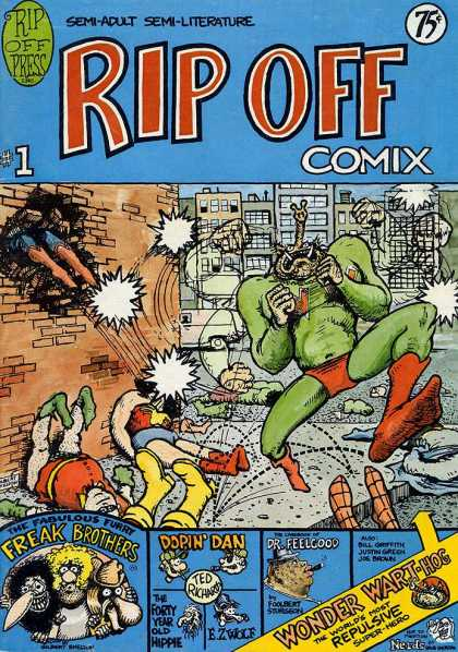 Rip Off Comix 1